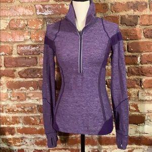 Lululemon Inspire pullover & Run US6 purple